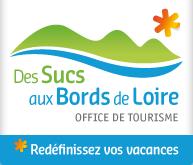 Logo de l'Office de Tourisme des Sucs aux bords de Loire