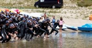 Triathlon des Sucs au Barrage de Lavalette