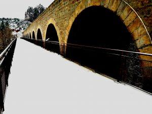 Pont de la Chapelette à Grazac