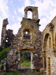 Vestiges du chateau d'Artias