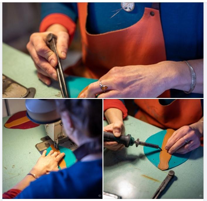 Atelier de maroquinerie : Cuirbiduletruc
