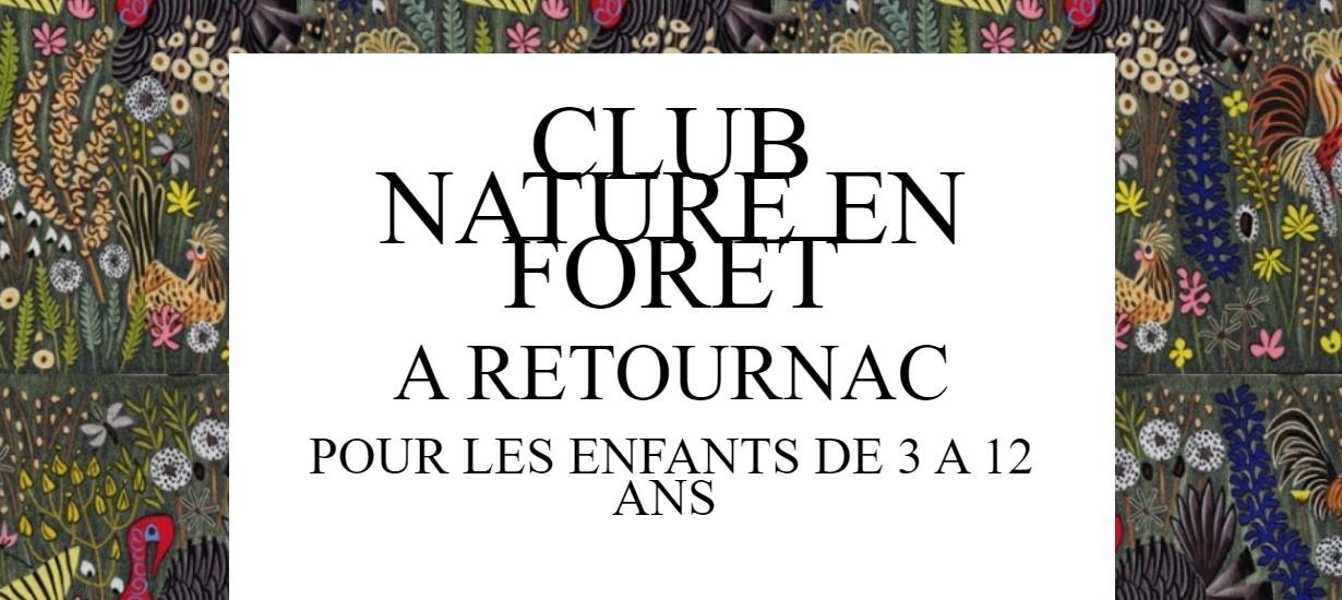 Club nature en Forêt