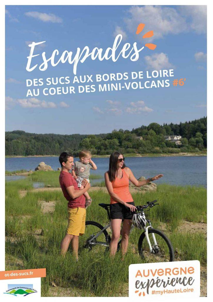 """Une du magazine """"escapades #6' - Printemps /été 2021..."""