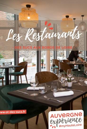restaurants du pays des sucs premiere page listing