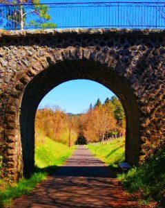 pont via fluvia